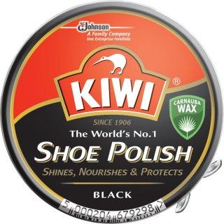 Pasta do butów w puszce czarna 50 ml KIWI SHOE POLISH