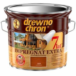 Impregnat do drewna EXTRA cedr 2,5l DREWNOCHRON