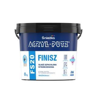 Gotowa masa szpachlowa Acryl Putz FS20 8 kg ŚNIEŻKA