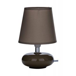 Lampka nocna 12 cm brązowa Em&Em