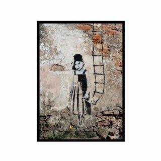 Obraz na ścianę motyw dziewczynka KNOR