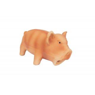 Zabawka dla psa chrząkająca świnka pomarańczowa CAN AGRI