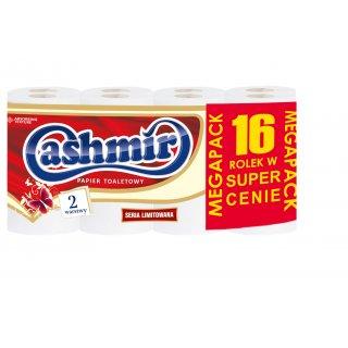 Papier toaletowy biały 16 rolek CASHMIR