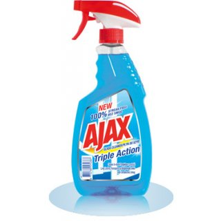 Płyn do szyb 500 ml triple action AJAX