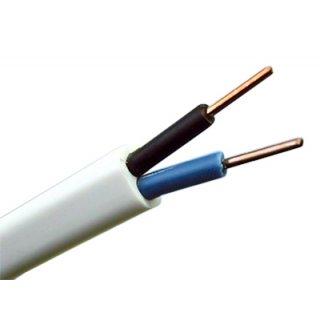 Przewód YDYP 2x1,5 750V 100 m biały HD TELEFONIKA