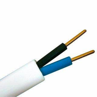 Przewód YDYP 2x2,5 750V 100 m biały HD TELEFONIKA