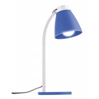Lampa biurkowa Lolli z żarówką LED 6W E14 niebieska EMOS