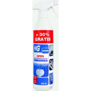 Pianka do czyszczenia łazienek 0,65 L HG