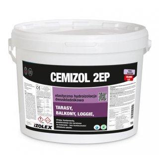 Hydroizolacja balkonów i tarasów Cemizol 2EP A-20kg IZOLEX