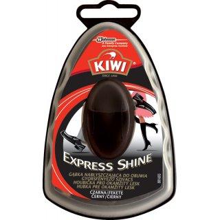 Gąbka nabłyszczająca do obuwia czarna 6 ml KIWI
