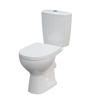 Kompakt WC Arteco 3/6 odpływ poziom deska duroplast CERSANIT