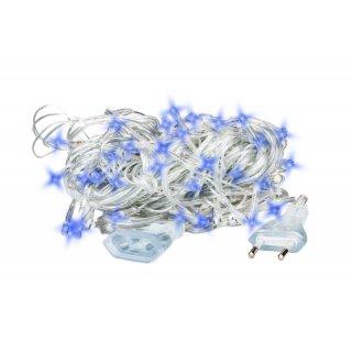 Lampki choinkowe LED 100 lampek Niebieskie 9m EMOS
