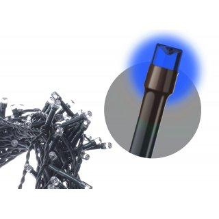 Kurtyna choinkowa LED niebieska migająca 4,2M VOLTENO