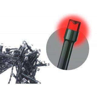 Kurtyna choinkowa LED czerwona migająca 4,2M VOLTENO