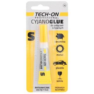 Klej Cyjanoglue 2g żółty PROFAST