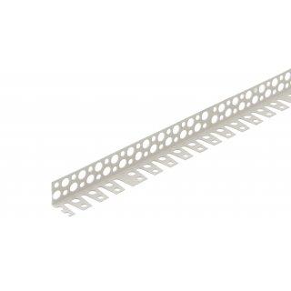 Narożnik perforowany PCV do łuków 25 x 25 mm