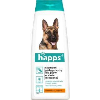 Szampon dla psów o sierści mieszanej 200 ml HAPPS