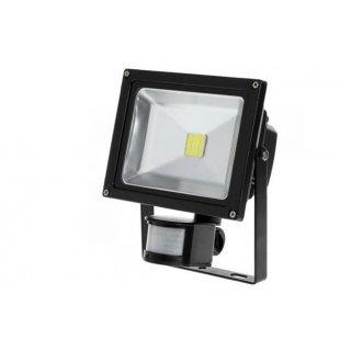 Naświetlacz LED 20 W z sensorem ruchu 6000K VOLTENO