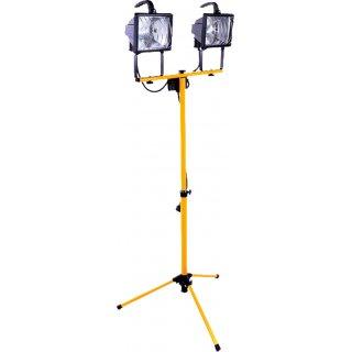 Halogen na statywie z żarnikiem 2x500W VOLTENO