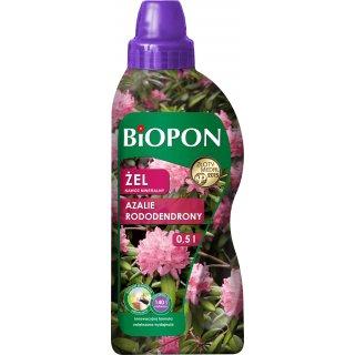 Nawóz mineralny do rododendronów, azalii i różaneczników 0,5l BIOPON