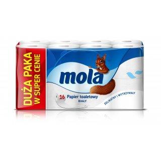 Papier toaletowy 16 rolek megapack MOLA