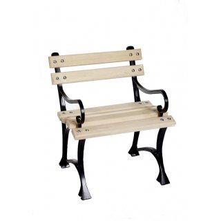 Krzesło ogrodowe z podłokietnikiem 75 cm CEZAR
