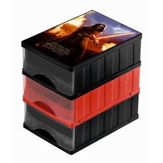 Zestaw pojemników szuflad 3 częściowy KEEEPER