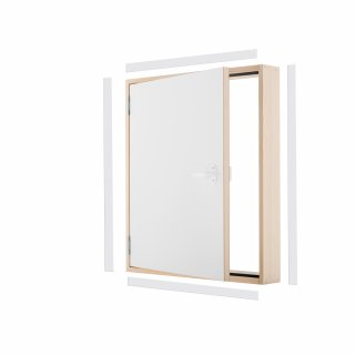 Drzwi kolankowe DK TERMO 80x55 cm OMAN