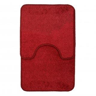 Dywaniki łazienkowe czerwone GALICJA
