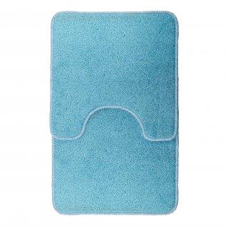Dywaniki łazienkowe niebieskie GALICJA