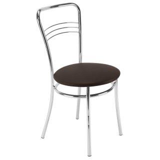 Krzesło kuchenne ARGENTO CHROME venge NOWY STYL