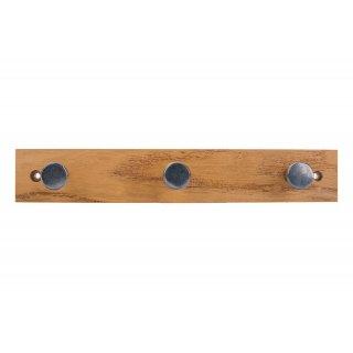 Wieszak ścienny ubraniowy drewniany WUF 1 VELANO