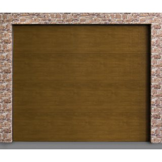 Brama Segmentowa 2500x2125mm Złoty Dąb