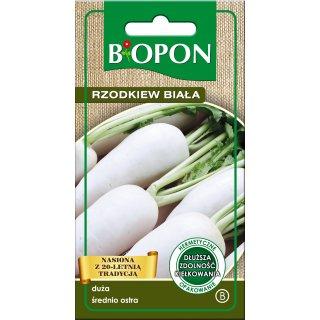 Rzodkiew biała Agata nasiona 5 g BIOPON