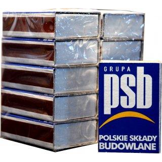 Zapałki 43mm 10-opakowań PSB