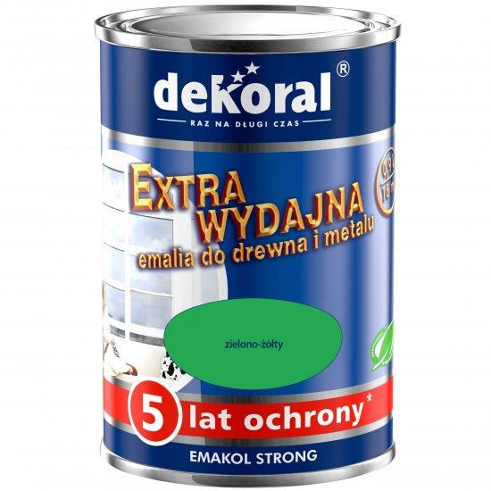 Emalia ftalowa EMAKOL STRONG zielono-żółty 0,9l DEKORAL
