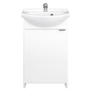 Zestaw łazienkowy szafka z umywalką biała 40 cm Kredo DEFTRANS