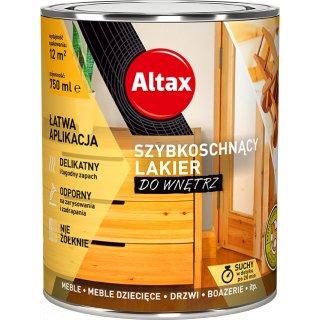 Szybkoschnący lakier do wnetrz 750 ml bezbarwny ALTAX