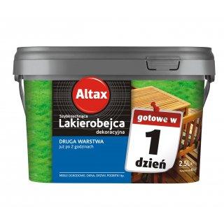 Szybkoschnąca lakierobejca na zewnątrz dąb 2,5l ALTAX