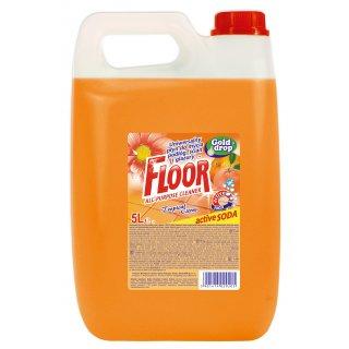 Uniwersalny płyn do mycia 5L tropikalne cytrusy FLOOR