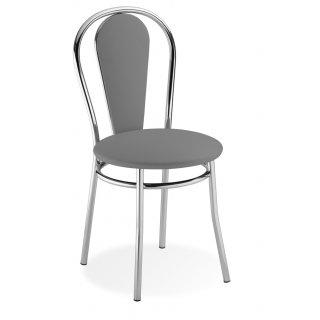 Krzesło tapicerowane jasny szary Vida  NOWY STYL