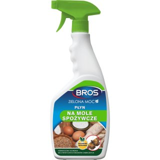 Środek na mole spożywcze Zielona Moc 500 ml BROS
