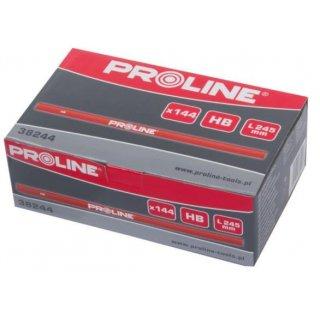 Ołówki stolarskie hb czerwony PROFIX
