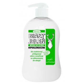 Mydło w płynie naturalne 300 ml BIAŁY JELEŃ