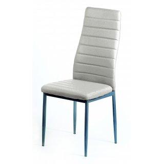 Krzesło tapicerowane Obiko białe TS INTERIOR