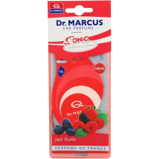 Zapach samochodowy Sonic listek Red Fruits PROFAST