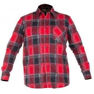 Koszula flanelowa czerwona rozm. m PROFIX