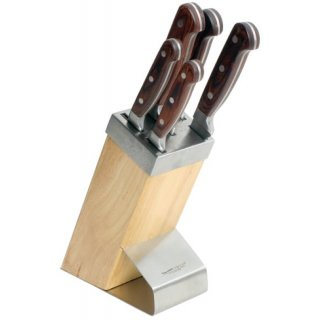 Komplet noży kutych Titanium 6-elementowy AMBITION