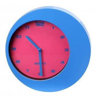 Zegar ścienny Merque niebieski GALICJA