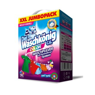 Proszek do prania kolor 7,5 kg WASH